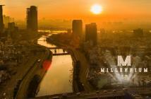 Bán căn hộ Masteri Millennium, MT Bến Vân Đồn Q4, view Bitexco 1PN/3tỷ; 2PN/4 tỷ; 3PN/7tỷ