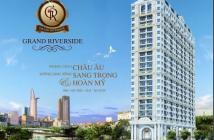 Bán Grand Riverside, mặt tiền Bến Vân Đồn, căn số 10 DT 78.5m2 giá 3.1 tỷ. LH: 0932009007