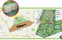 Căn hộ đường Tân Sơn quận Tân Bình view sân Golf 36 lỗ đẹp nhất VN, giá chỉ 19tr/m2, LH 0909398616