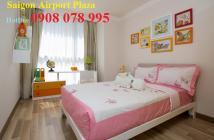 Bán căn góc 3PN, Saigon Airport Plaza, quận Tân Bình, view đẹp. Hotline CĐT 0908 078 995