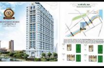 Cần bán lại căn góc 55,1m2 tầng 7 Grand Riverside giá rẻ nhất thị trường Quận 4, view sông