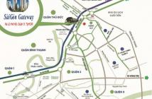 Hot, căn hộ 2PN Sài Gòn Gateway, cơ hội nhận nội thất cao cấp + SH 150I. LH: 0911062299