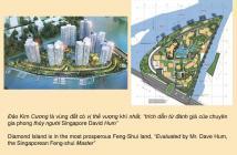 Bán căn hộ Đảo Kim Cương quận 2, nhận nhà ờ ngay, 132m2, 3PN, view trực sông Sài Gòn, 8.6 tỷ