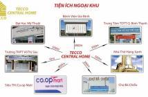 Cần bán căn hộ Tecco Central Home, 2 PN, 2WC, 64m2, giá 1.8 tỷ, view đẹp, LH: 0901 993 120