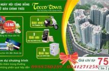 Mua nhà Tecco nhận ngay xe Piago, điện thoại Oppo, máy giặt Sanyo, mở bán 7/5/2017