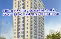 Bán căn hộ Tecco Cetral Home Bình Thạnh ngay chợ Bà Chiểu chỉ 1,9 tỷ/căn