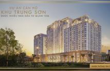 Bán căn hộ CC khu Trung Sơn, giá 1,8 tỷ/CH, 1 tỷ/căn officetel, ck 4- 18%, gọi ngay 0938 189161