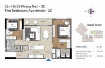Bán căn hộ Đảo Kim Cương quận 2, tháp Hawaii, 2 phòng ngủ, lầu 9, 88 m2, 4.2 tỷ (có VAT)