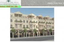 Thiết kế nhà phố Cityland Park Hills Gò Vấp, hầm và 4 tầng