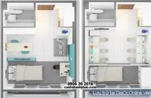 Kẹt tiền cần bán gấp 2 căn oficetel Sky Center ngay phi trường TSN, nhà mới 100%, LH: 0908207092