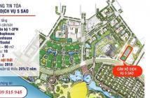 Tòa Quân Cảng Vinhomes Central Park cho nhận chỗ,CĐT cam kết thuê lại 20%/2 năm, Liên hệ 0909 515 945