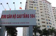 Bán căn hộ Sacomreal 584, dt 82.3 m2, 2 phòng ngủ, 2WC, 1.6 tỷ
