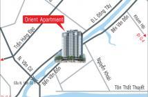 Bán căn hộ Orient Bến Vân Đồn nội thất cao cấp, giá 3,1 tỷ