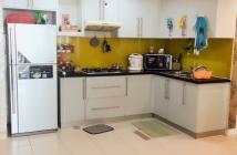 Bán căn hộ giá rẻ trung tâm Quận Phú Nhuận, Căn góc view Đông Nam. 2PN/2WC. Giao full nội thất.