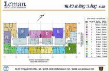 Giao nhà ở ngay căn hộ cao cấp phong cách Thụy Sĩ Leman, quận 3, Tp HCM