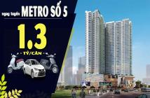 Mở bán 2 tầng cao nhất, đẹp nhất The Pegasuite, ký HĐ 15%, góp 1%/ tháng, giá từ 1,38 tỷ/căn. LH: 0901 827 857