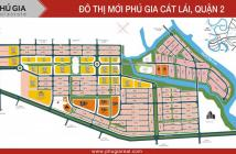 Bán đất nền dự án phú gia cát lái quận 2 giá 22 tr/m2