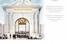 CH Grand Riverside MT Bến Vân Đồn, Q4 tặng gói cho thuê 180tr + xe vespa + 15 cây vàng- 0902854548