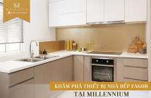Bán căn hộ Millenium 132 Bến Vân Đồn giá 52tr/m2, thanh toán 30% nhận nhà. LH 0906889951