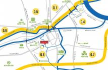 Căn hộ quận 7_Le Jardin Phú Mỹ Hưng, DT 123m2 chỉ 5.2tỷ, 3PN, view sông, công viên tuyệt đẹp