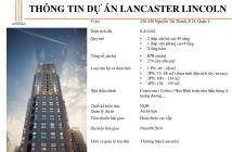 Chỉ 700tr nhận ngay căn hộ cao cấp Lancaster Lincoln liền kề trung tâm TP HCM