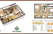 Bán chung cư 283 Khương Trung, 69m2 (1012) giá 25tr/m2. CC 0934542259.