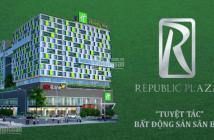Sở hữu ngay Officetel chuẩn 5* đầu tiên tại Sài Gòn Republic Plaza-ngay MT Cộng Hòa, full nội thất