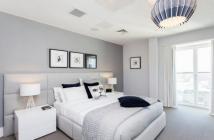 Cho thuê căn hộ Happy Valley nhà mới decor, lầu cao view hồ bơi giá 1200$/tháng