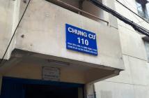 Bán gấp căn hộ lầu 1 CC 110 Phan Xích Long, P. 3 Q. Bình Thạnh, DT 53m², 1.58 tỷ/TL
