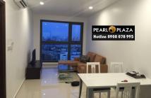 Chính chủ cần bán CH Pearl Plaza 1PN, Unit 17- 03, view sông, hướng view ĐN, cửa TB