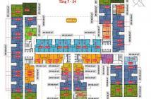 Bán 10 suất nội bộ căn 2PN giá sốc dự án The Goldview. LH 0939.597.880