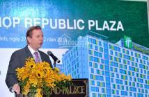Tận hưởng cuộc sống mỗi ngày tại Republic Plaza Cộng Hòa giá 2,2 tỷ/căn. LH: 0904.38.38.08