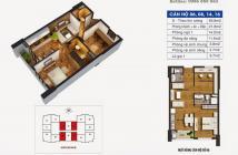 Gấp, bán CT36 Định Công (Dream Home), P1606, S= 59.8m2, bán giá 1450ty/căn bao tên.