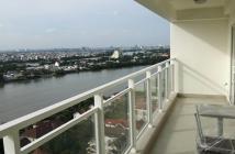 Bán căn hộ cao cấp River Garden 132m2, 2PN lầu cao View trực diện sông.