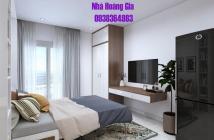 Cho thuê căn hộ 1 phòng ngủ, 1WC, 1 phòng khách, nội thất cao cấp như hình, giá 16 tr/tháng