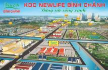 Mở Bán Khu dân cư Newlife Bình Chánh giá chỉ 390tr/nền