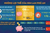 Chủ đầu tư mở bán căn hộ Him Lam Phú An tầng 5, 8, 9, đẹp nhất dự án. LH PKD CĐT: 0967 087 089