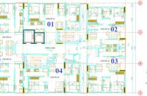 Bán căn hộ lầu 4 Him Lam Chợ Lớn, 2PN, 2WC, nhận nhà 6/2018, tiện ích hiện hữu. PKD 0967.087.089