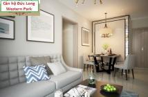 Căn hộ Đức Long Western Park, MT Lý Chiêu Hoàng, chỉ 1 tỷ/căn 2PN, TT 120tr nhận nhà