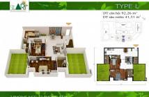 Bán penthouse The Art- Gia Hòa full nội thất 5 sao, có 2 sân vườn 41m2 tầng 18.