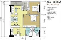 Bán chung cư Mỹ Phú quận 7 giá rẻ, 90m2 hướng đông