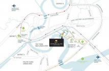 Căn hộ Đảo Kim Cương, 2PN, 125m2, view trực diện Bitexco, sông Sài Gòn, 7.6 tỷ. LH 0909182993