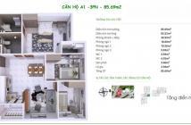 Chủ đầu tư bán gấp căn hộ tầng 08 giá 1.2 tỷ VAT, 62m2, 2PN,2WC, ngay trung tâm Q9, 0909217992