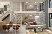 Căn hộ 96m2 3 phòng, duplex 2 tầng sang trọng, mặt tiền Tạ Quang Bửu, view hồ bơi bao đẹp