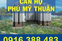 Bán căn hộ Phú Mỹ Thuận, 143m2, 1 trệt, 1 lầu, nhà và nội thất mới 100%. LH: 0916.388.483