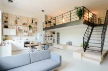 Không gian sống hiện đại với căn hộ Duplex đầu tiên tại quận 8