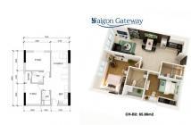 Mở bán căn hộ Saigon Gateway giá từ 1.48 tỷ/căn 2PN,