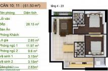 Chính chủ bán gấp căn hộ Saigon South Plaza 2PN, 61.5m2, 1.75 tỷ, view sông, tầng cao