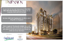 Căn hộ D1 Mension - Capitaland - quản lý: The Ascott Limited Singapore, CK 6.5% LH. 0936.779.717