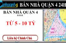 Bán nhà  HXH Trần Hưng Đạo quận 1, DT 56m2, giá 8,35 tỷ, TL, sổ hồng chính chủ 2011 - 0911985454.
